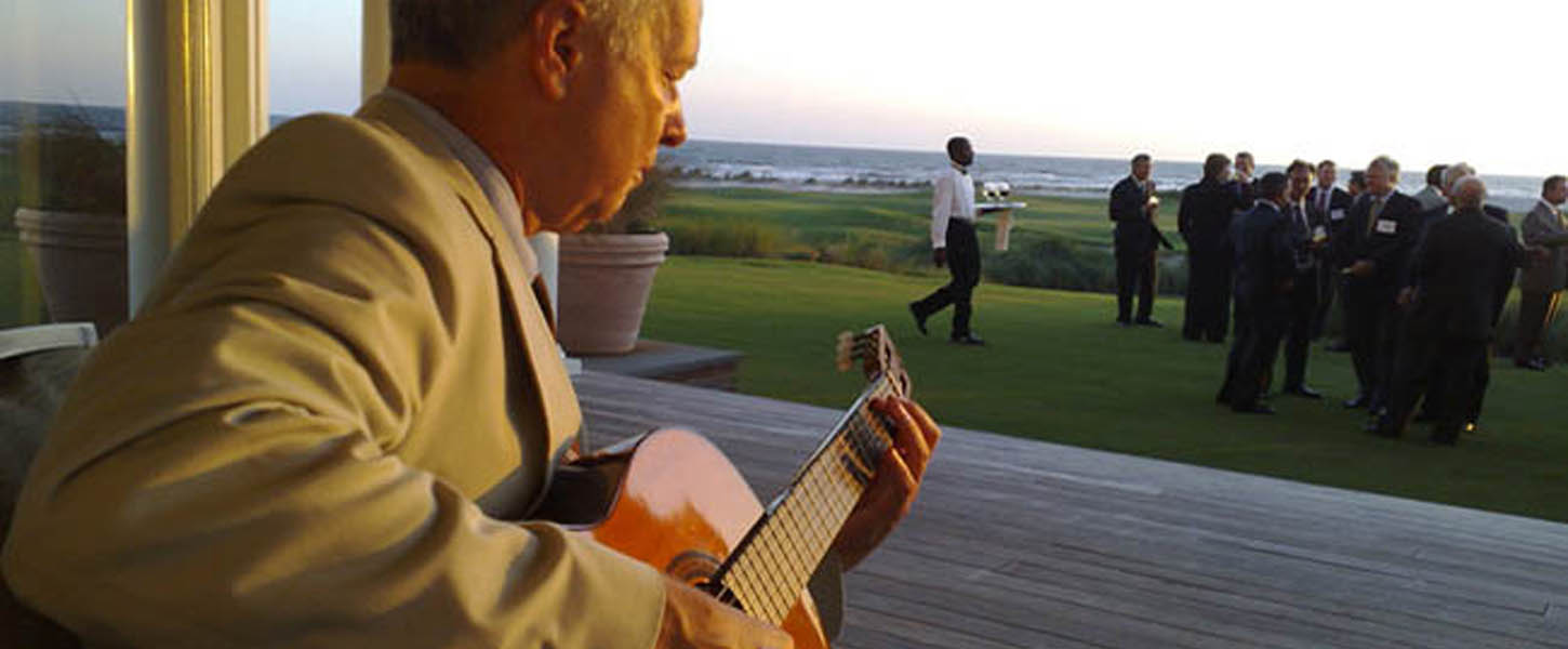 Solo Jazz Guitar at Kiawah Island, SC